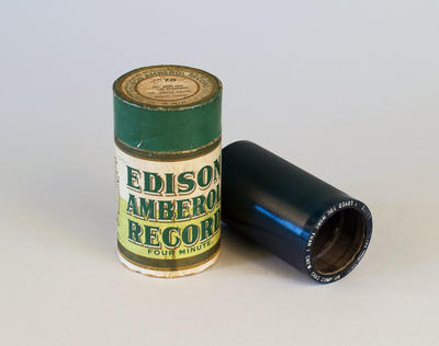 Phonograph Record [Edison Blue Amberol]