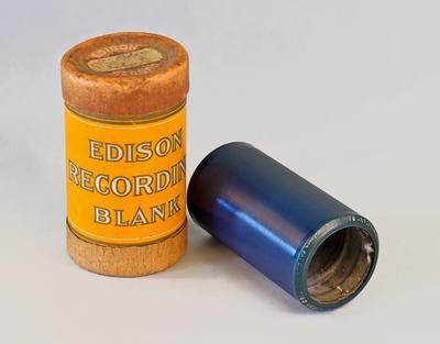 Blank Phonograph Record