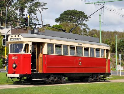 Tram [No.257 ('Fiducia' type)]; Wellington City Corporation Tramways Department; The British Thomson-Houston Company Limited; 1950