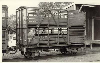 Opua railway station, 1968