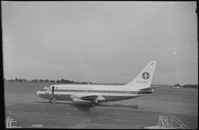 620 27.6.70 Wgtn (RH) [ZK-NAE Boeing 737-219]