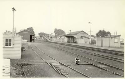 Manurewa station, 1958