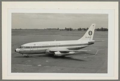 [ZK-NAJ Boeing 737-219 photograph]; John Page