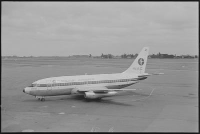 NAJ 26.1.73 Chch [ZK-NAJ Boeing 737-219]