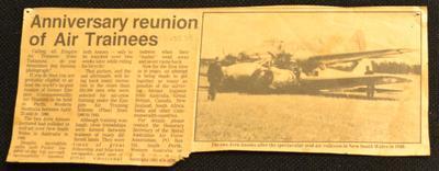Anniversary reunion of air trainees