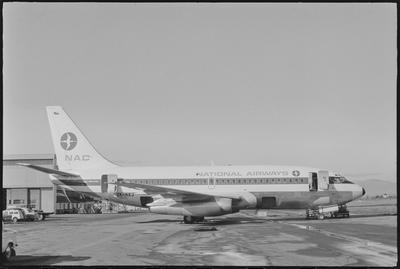 23.7.71 Chch  [ZK-NAJ Boeing 737-219]; John Page; 23 Jul 1971