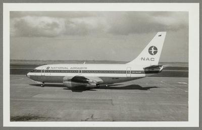 [ZK-NAL Boeing 737-214 photograph]; John Page; 07 Jun 1975