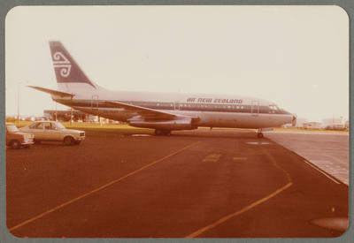 ZK-NAP Boeing 737 1981 Auckland Airport