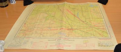 Moose Jaw-Watrous, Saskatchewan : sheet 72 N.E.