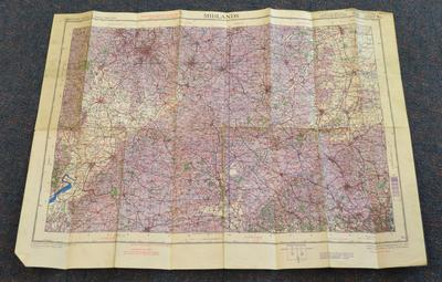 Midlands : air : sheet 8