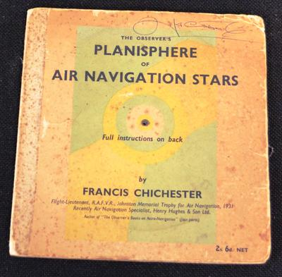 The observer's planisphere of air navigation stars