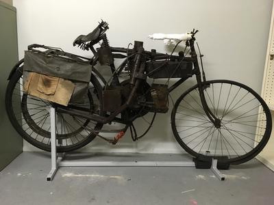 Motorcycle [Pearse]; Richard Pearse; Circa 1912