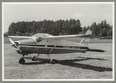 8.11.70 Napier [ZK-CJH Bolkow 208C Junior]; John Page; 08 Nov 1970