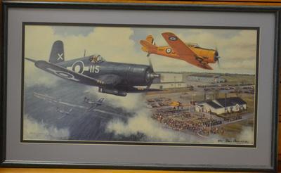Corsair and Harvard aircraft