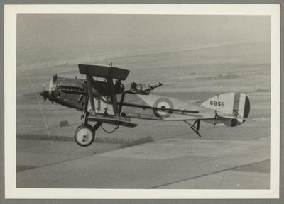 [6856 Bristol F2B Fighter MKII photograph]; John Page; Belwood Studios