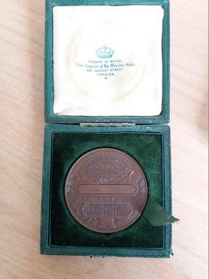 Bronze Medallion in Box