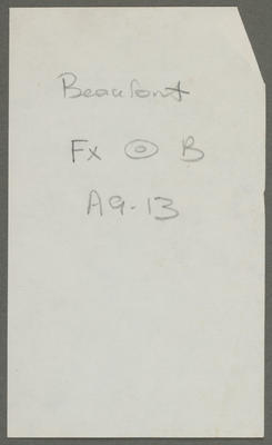 Beaufort FX [drawing of a roundel] A9-13