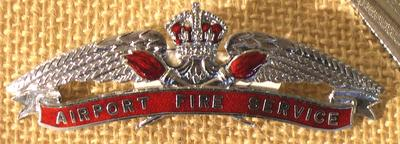 Hat Badge [Airport Fire Service]