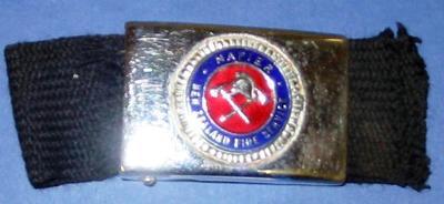 Belt Buckle [New Zealand Fire Service Napier]