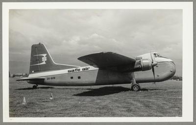 [ZK-BVM Bristol 170 Freighter Mk31E photograph]