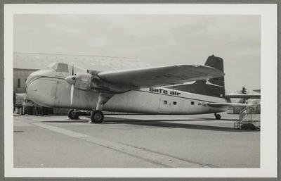 [ZK-CAL Bristol 170 Freighter Mk31E photograph]