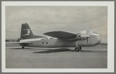 [ZK-CAM Bristol 170 Freighter Mk31E photograph]