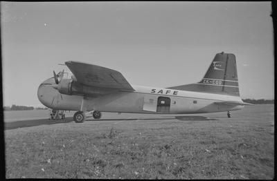 620 Woodburne 7.11.69  [sic] [ZK-CQD Bristol 170 Freighter Mk31]