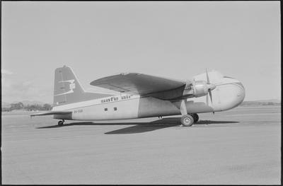 2/35m 26.2.71 Woodburne [sic] [ZK-CQD Bristol 170 Freighter Mk31E]