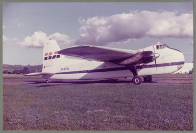 ZK-EPD Bristol 170 Freighter Mk31(NZ)m 7.4.85 Ardmore
