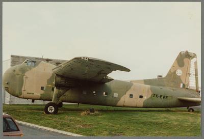 21/6/87 Ardmore [ZK-EPE Bristol 170 Freighter Mk31]