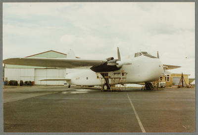 [ZK-EPF Bristol 170 Freighter Mk31(NZ)m photograph]