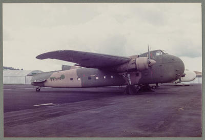 21/6/87 Ardmore [ZK-EPG Bristol 170 Freighter Mk31]