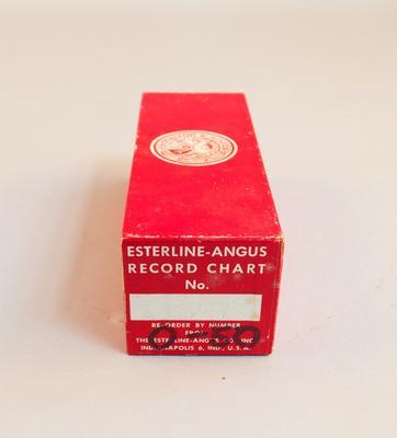 Recorder Chart [Chart No. 4312-Y]