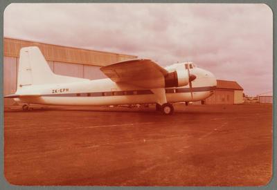 ZK-EPH Bristol 170 Freighter Mk31 1980 Ardmore