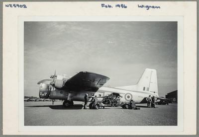 NZ5902 Feb. 1956 Wigram [Bristol 170 Freighter Mk31(NZ)m]