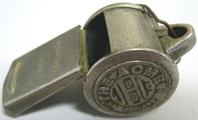 Tram Conductor's whistle