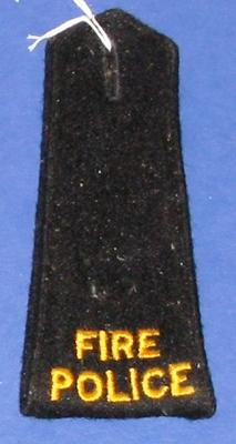 Epaulettes [Fire Police Service]