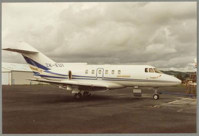 ZK-EUI 15.3.87 Ardmore [British Aerospace BAe 125-800B]