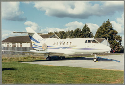 [ZK-EUI British Aerospace BAe 125-800B photograph]; John Page