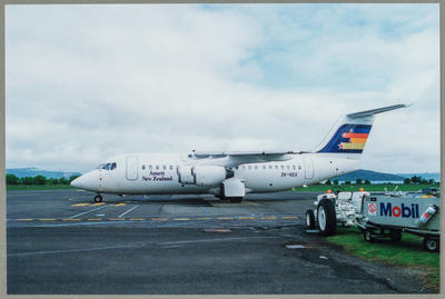 ZK-NZA BAC British Aerospace BAe 146-200A Rotorua