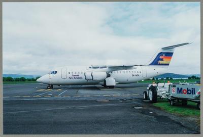 ZK-NZA 7/10/91 Rotorua [British Aerospace BAe 146-200A]