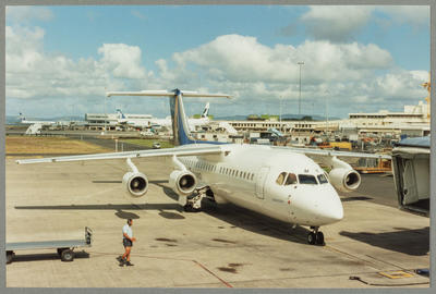 BAe 146 ZK-NZM Auckland Airport 15.2.96