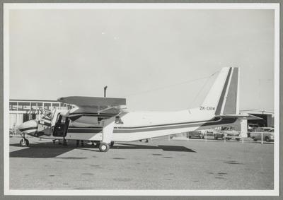 Timaru 18.9.70 [ZK-DBW Britten-Norman BN 2A Islander]; John Page; 18 Sep 1970