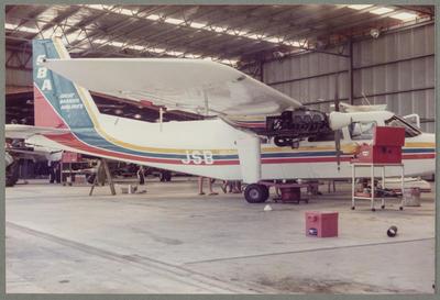 ZK-JSB Britten-Norman BN2 Islander 8.1.85 Ardmore