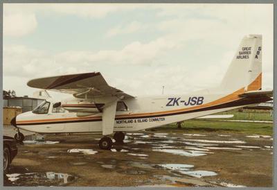 14/9/87 Ardmore [ZK-JSB Britten-Norman BN2 Islander]