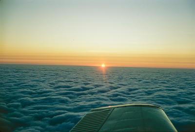 "Cliff Tait round-the-world flight in Airtourer ZK-CXU ""Miss Jacy"", 1969; Cliff Tait; 07 Jul 1969"