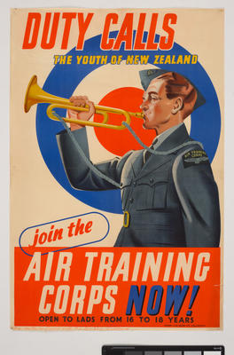 Duty Calls The Youth of New Zealand: Join the Air Training Corps Now!