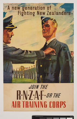 Join the R.N.Z.A.F. or the Air Training Corps