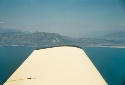 "Cliff Tait round-the-world flight in Airtourer ZK-CXU ""Miss Jacy"", 1969"
