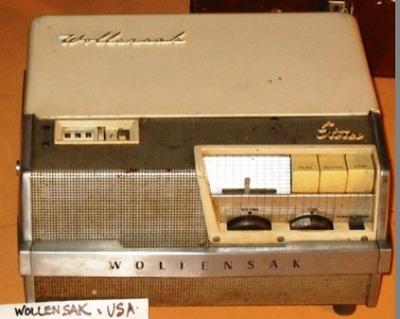Recorder - Tape (Wollensak)